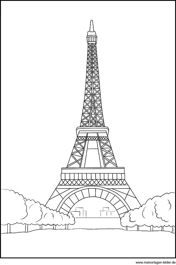 ausmalbild-eiffelturm-paris